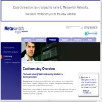 Data Connection Conferencing image