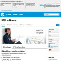 HP Virtual Rooms image